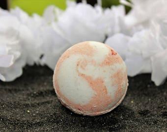 Love Spell Bath Bomb/Fizzy, Pink & White