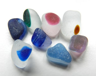Small English Beach Sea Glass Multis for Jewellery