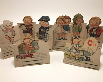 1930's Campbell's Soup Bridge Tally Cards