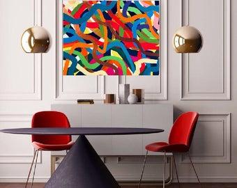 "Acrylic painting on 18""x24"" canvas"