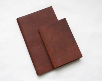 13x21cm Leather Moleskine Cover - COVER ONLY