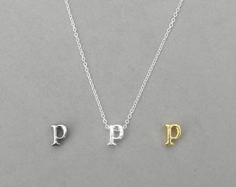Initial p Necklaces 373