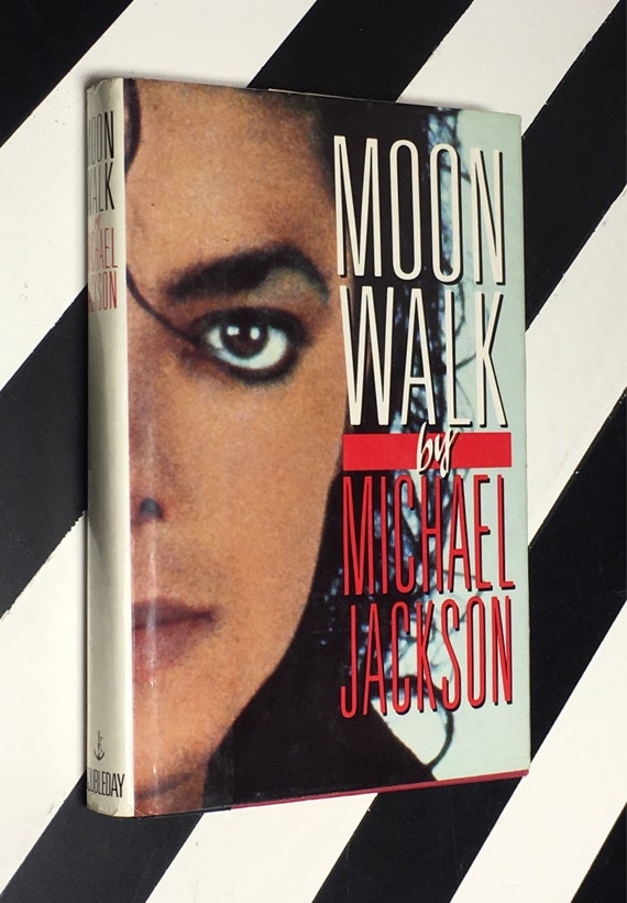 Moonwalk by Michael Jackson (1988) hardcover book