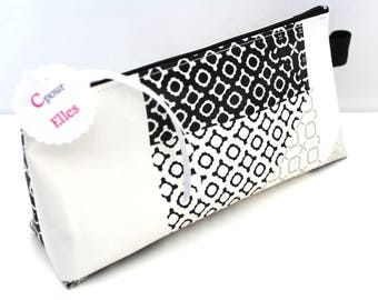 Clutch pencil or makeup theme Patchwork