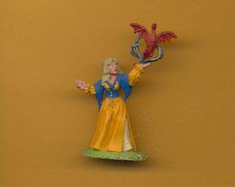 Reaper #2050 Tristan Loremistress, Female Wizard 28mm Miniature Painted