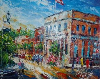 Downtown Street, Minden, NV-Pen King -A185