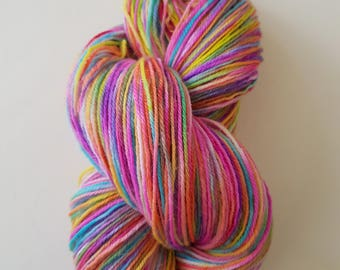 EVE. the brush-dyed wool skein