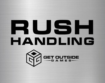 Same Day / 1 Business Day Rush Handling - Cornhole Bags & Decals