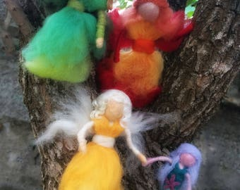 Felted Fairies - The Four Elements Set