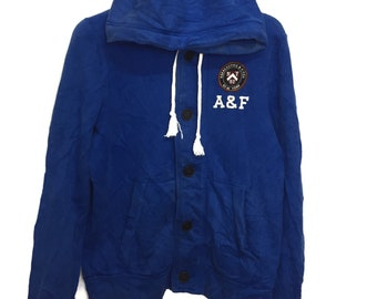 Abercrombie & Fitch hoodies embroidered logo medium size