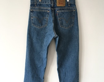 Vintage 550 Tapered Levi's Jeans | Red Tab