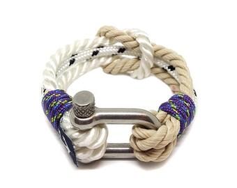 Twisted Rope Nautical Bracelet, Handmade Rope Bracelet, Surfer Bracelet, Perfect Gift Bracelet