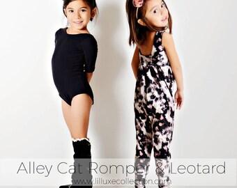 Alley Cat ROMPER & LEOTARD pattern