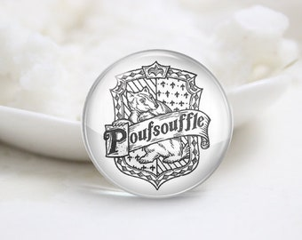 Handmade Round Harry Potter Photo glass Cabochons (P3902)