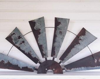 Decorative Windmill 30 Inch Half