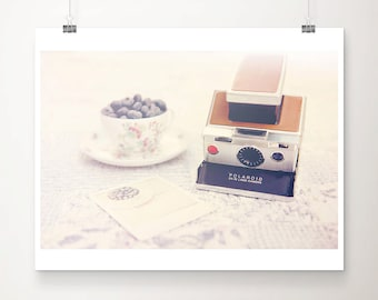 blueberry photograph vintage camera photograph vintage camera print still life photograph food photography still life photograph