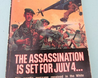 Donovan's Devils The Assassination Is Set For July 4 by Lee Parker 1974 Paperback Free Shipping