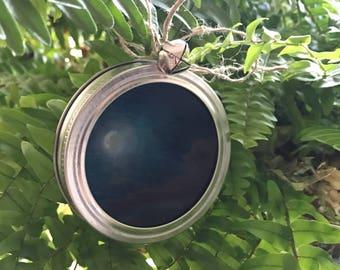 Waning Moon ornament