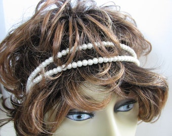 Hair Accessories, Hair Jewelry, bridal jewelry, wedding hair beads,  bridal double strand, headpieces