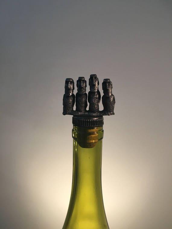 Moai wine stopper moai gift bottle topper easter te gusta este artculo negle Images