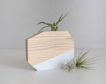Wooden Air Plant Holder, Air Planter, Tillandsia Holder, Wood Air Plant Holder, Wood Air Plant Planter, Air Plant Display, Air Plant Gift