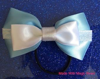 Disney's Cinderella inspired hair bow