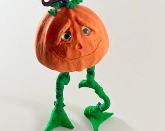 Halloween Pumpkin Sculpture
