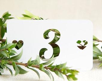 Heart, Wedding Table Number, Wedding Decoration, Wedding Signs, Rustic Wedding, Wedding Reception, Wedding Table Numbers, Wedding Decor