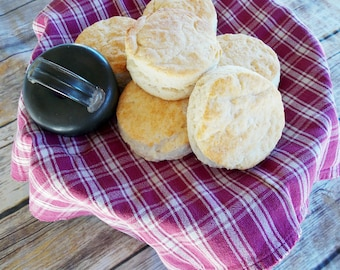 Southern Buttermilk Biscuits ~ Farmhouse Biscuits ~ Homemade Biscuits ~ 1 Dozen Large