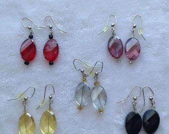 Classic dangle earrings - ladies dangle earrings - women's dangle earrings