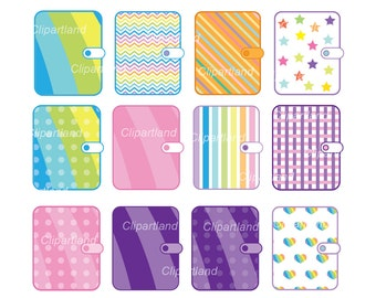 INSTANT Download. CP_3_Planner. Planner clipart. Personal and commercial use.