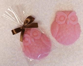 65 Owl Baby Shower Soap Favors - Custom Order