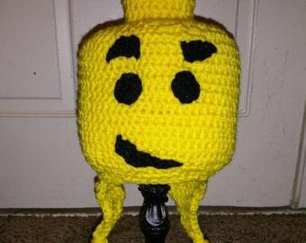 Crochet Lego Head