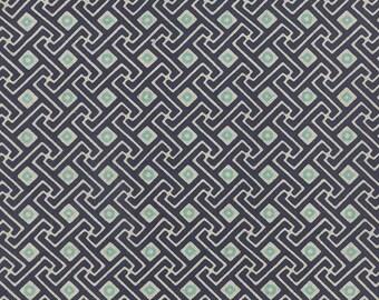 Moda - Mixologie Linen - Ice Blueberry - Texture