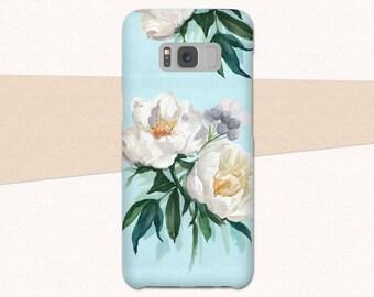 samsung s8 flower phone case