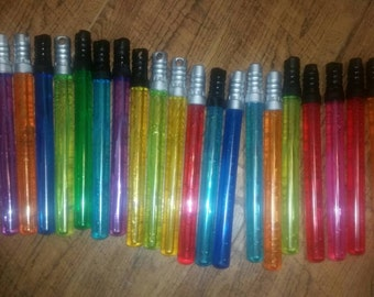15  bubble wand  saber party favors, star party favors