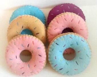DIY Donut felt toy doll house pattern