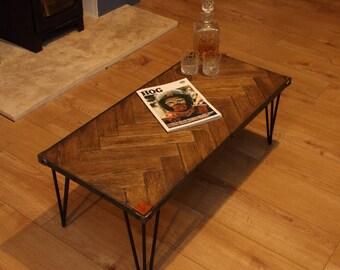 Ooo I say...... Parquet.... Coffee Table