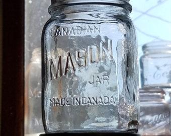 Vintage Kerr Mason Jars