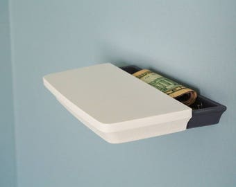 Secret Shelf | Hidden Shelf | Money Stash | Money box | Hidden storage | Gift for her |  | Home Decor | 3D Printed | Conceal | Wall Decor