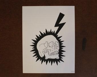 Electrified No. 2 - 8.5x11 Print