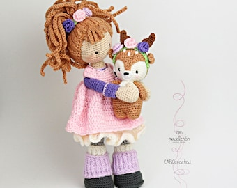 Doll Mia & Deer Layla