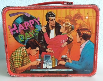 1976 Happy Days lunchbox the Fonz