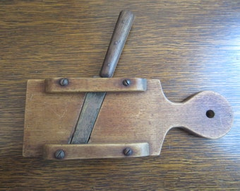 Antique French Cutting Board With Knife Small French Cutting Board Vintage French Cutting Board French Farmhouse Antique Farmhouse Kitchen