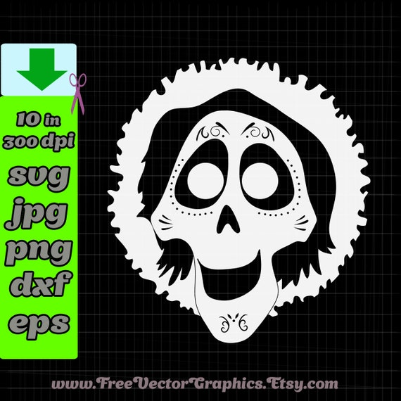 Hector Coco svg Disney svg files for cricut downloads Disney