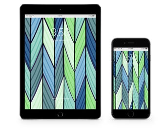 Chevron - Instant Digital Download Device Wallpaper Background