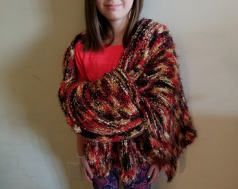 One of a kind Blanket Scarf (L)