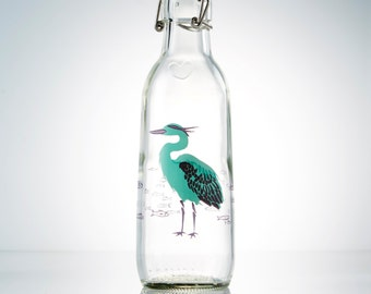 Heron Love Bottle