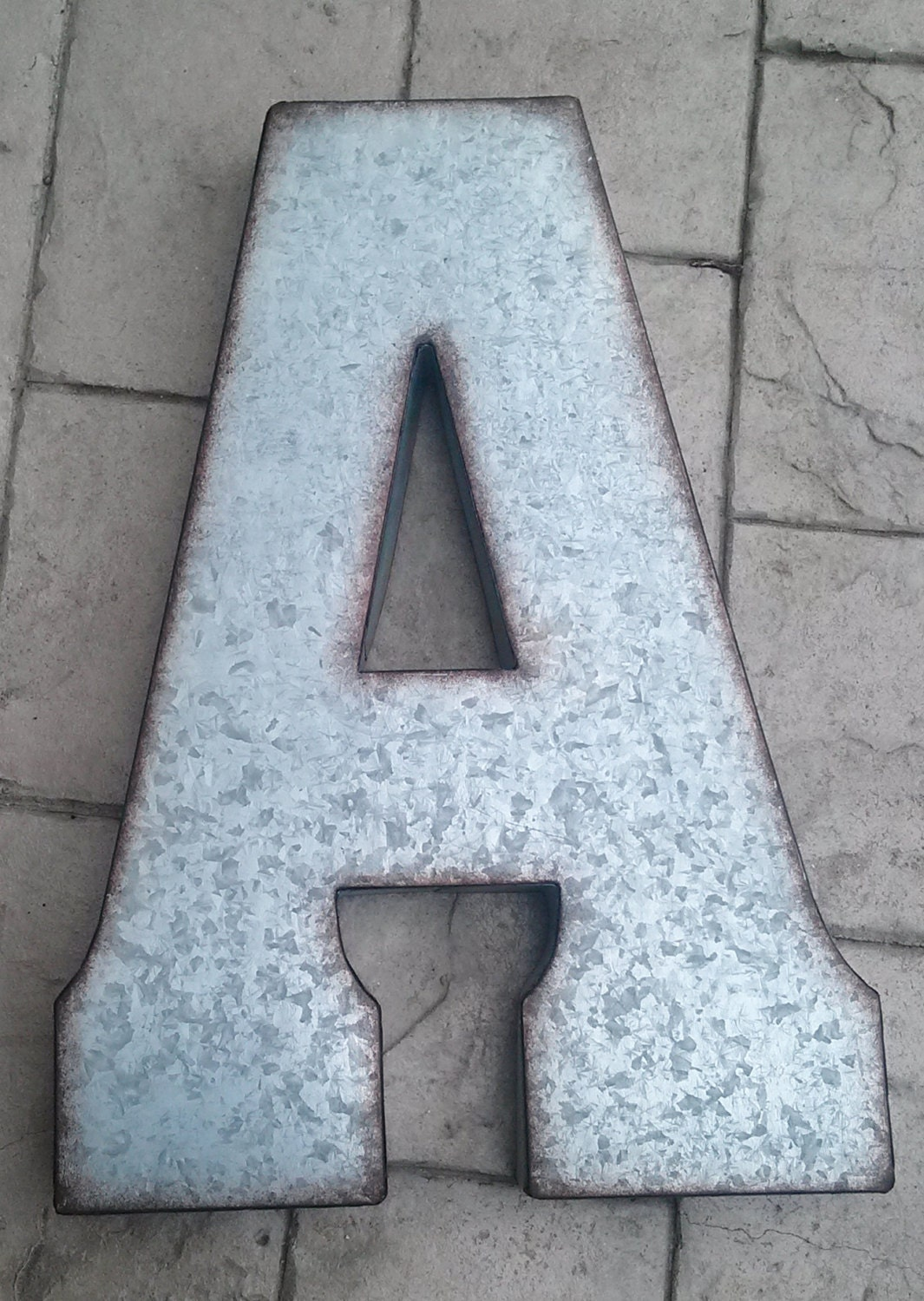 Large Metal Alphabet Letters For Wall Sale X Large Metal Letter Zinc Steel Initial Home Room Decor