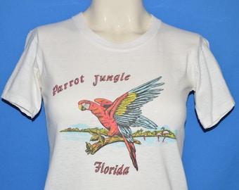 60s Parrot Jungle Florida t-shirt Youth Medium
